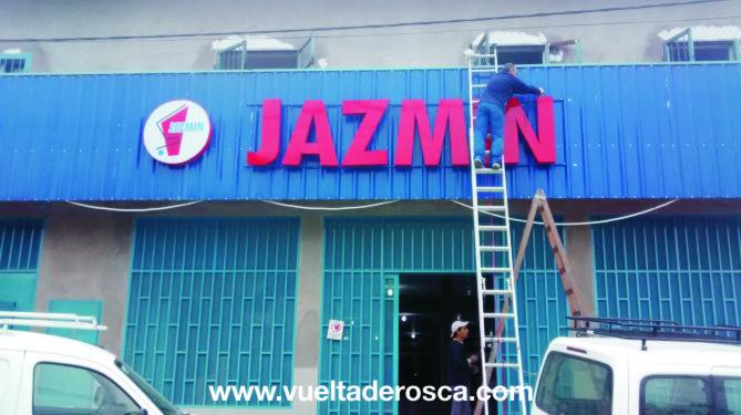 jazmin corporeo chapa con led 2