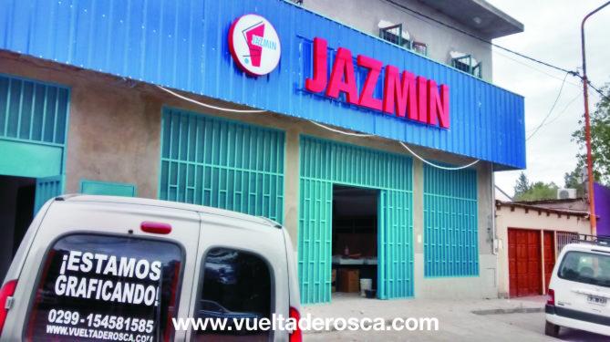 jazmin corporeo chapa con led 3