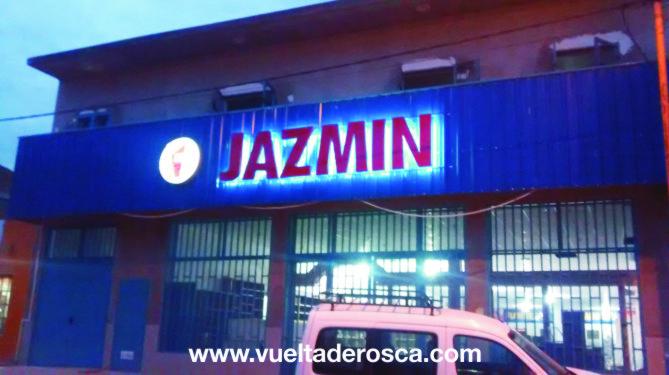 jazmin corporeo chapa con led 6