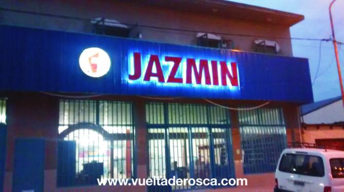 jazmin corporeo chapa con led 7